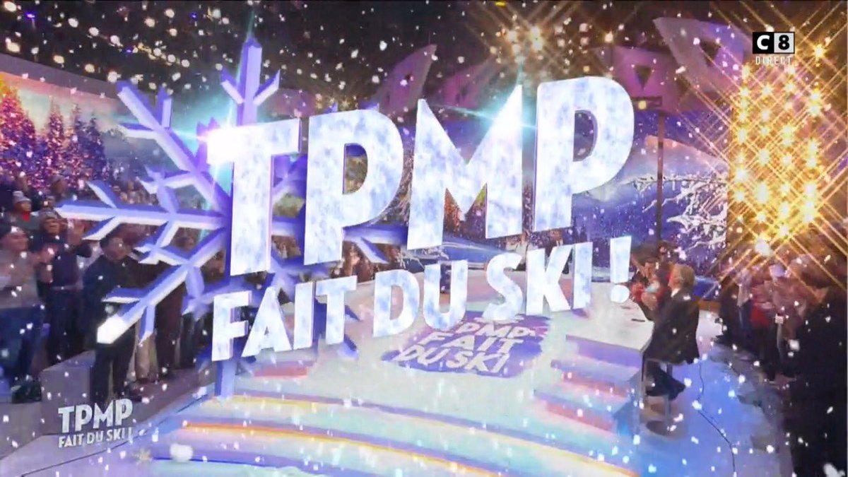 C'est parti !!! #TPMPFaitDuSki 🎿❄️ https://t.co/hd7I5uhsxJ
