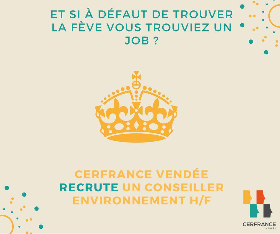 En ce mois de janvier, rejoignez #Cerfrance #Vendée ! Nous recrutons un  conseiller #environnement H/F @Cerfrance  https://www. cerfrance.fr/espace-recrute ment/3353 &nbsp; … <br>http://pic.twitter.com/RnVfd7t3UA
