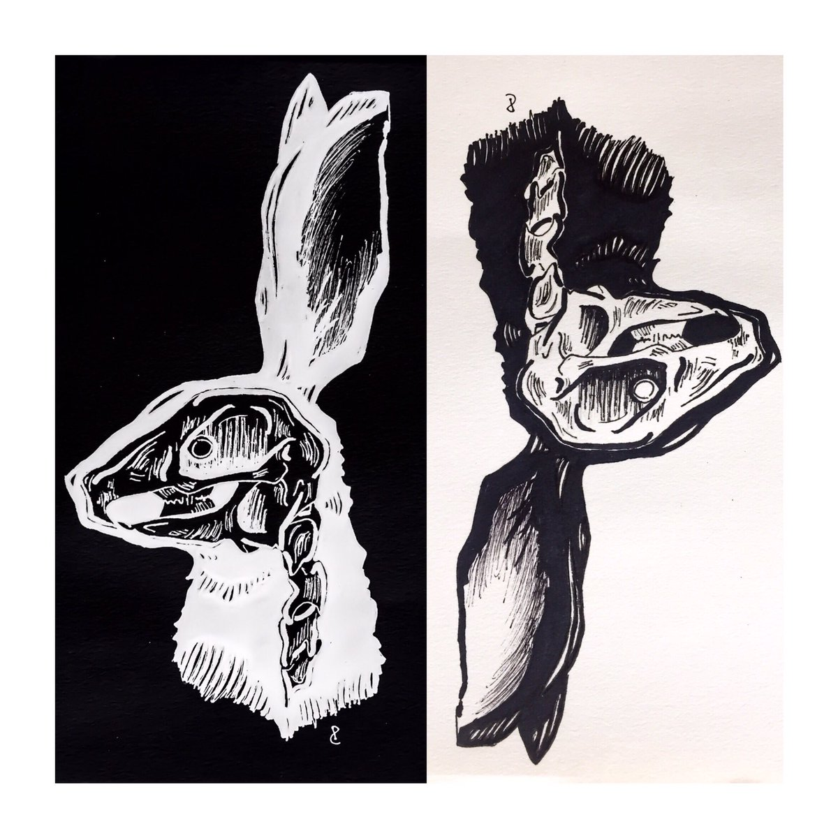 i&#39;m the deathinspiredrabbit,, . |-/ . @twentyonepilots @skeletonclique #FanArtFriday #cliqueart<br>http://pic.twitter.com/rVsBkCUYKW
