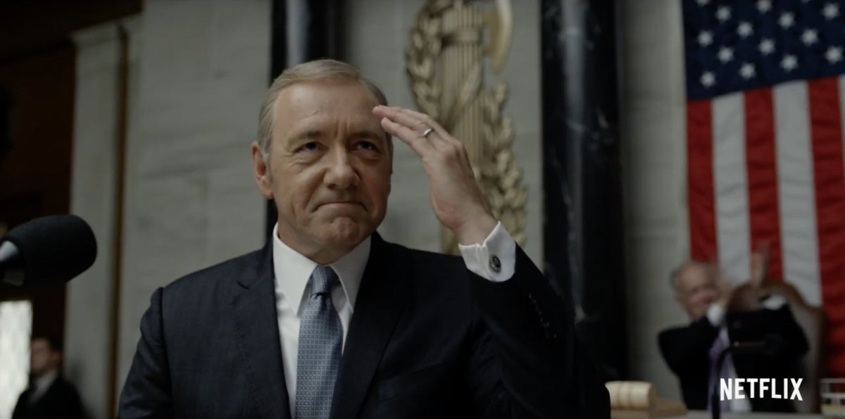 Netflix's House of Cards will return on May 30th for its fifth season...