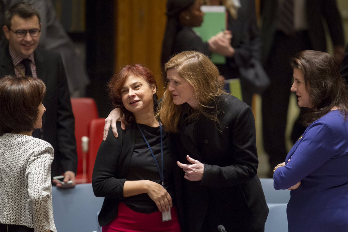 Farewell @AmbassadorPower, thank you for your cooperation, friendship &amp; tireless energy at @UN incl. in #UNSC. All the best @SamanthaJPower!<br>http://pic.twitter.com/EUViTt2sF2