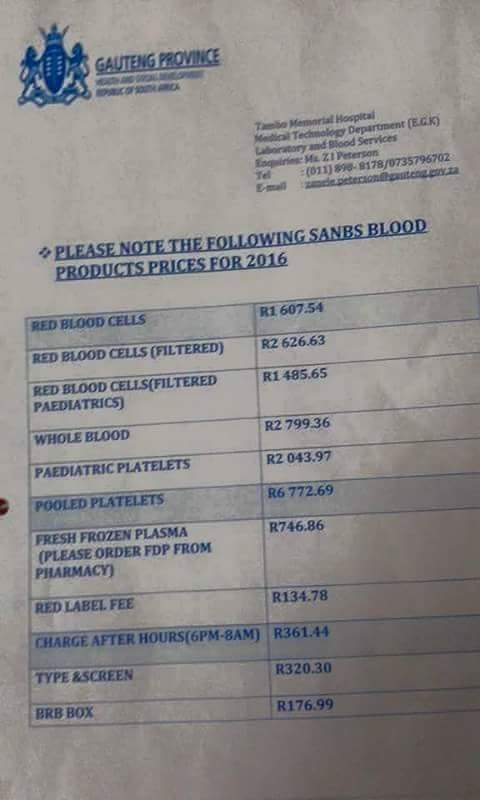 We donate blood then they sell it .. I will never donate it ever again @SABCNewsOnline. @ANN7tv @Pholoho  @theSANBS