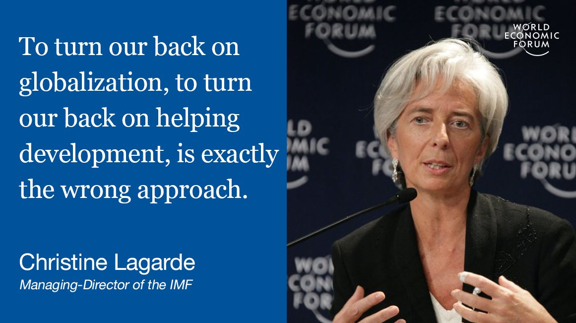 The end of globalization? Davos disagrees http://wef.ch/2jUTMRn #wef17