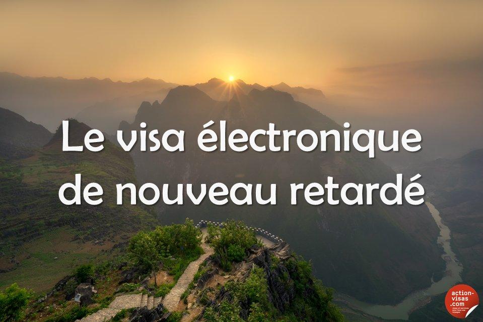 #VIETNAM  Le visa électronique de nouveau retardé...  https://www. facebook.com/notes/action-v isas/vietnam-le-visa-%C3%A9lectronique-sera-mis-en-place-dici-le-milieu-de-lann%C3%A9e/1270896219615496 &nbsp; …  #visa #tourisme #voyage<br>http://pic.twitter.com/sLWftM2xpw