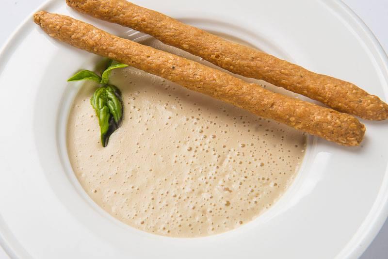 Крем суп из белых грибов со сливками рецепт