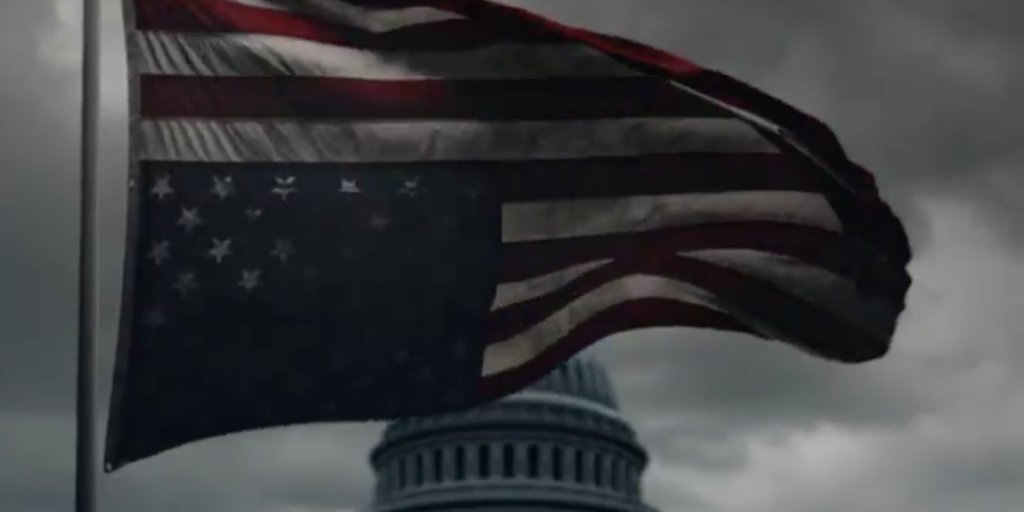 'House of Cards' drops nightmarish teaser during Trump inauguration: '...