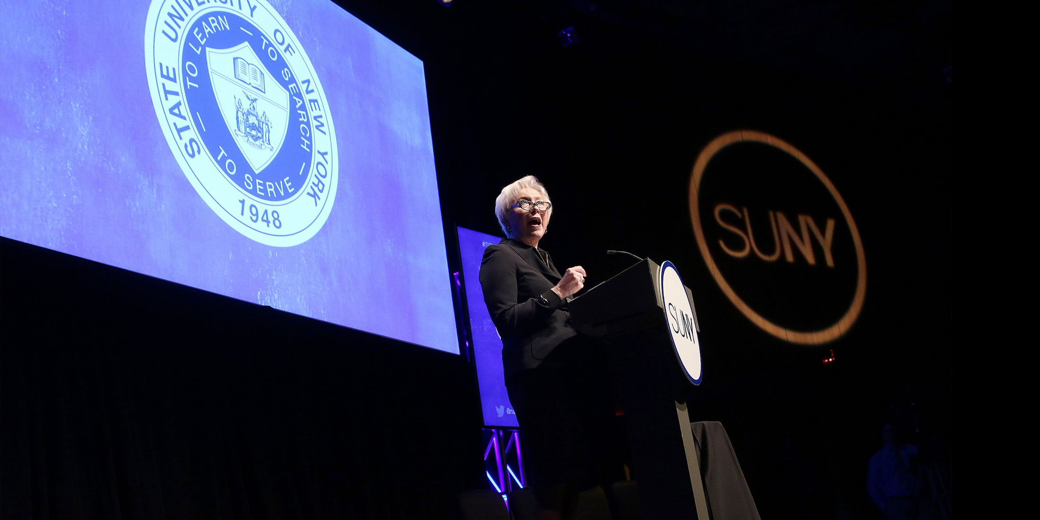 NEWS: Chancellor @NancyZimpher to Deliver 2017 State of the University Address on Monday, January 23: #SOU2017  https://t.co/EJUbvT15DU https://t.co/np7qIK8TBd