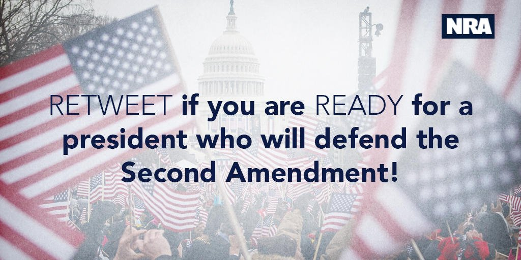 We are READY to get to work with President Trump and defend the #2A! Are you? #Inauguration  #America<br>http://pic.twitter.com/UOcx9F0KEU