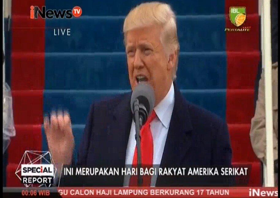 .@realDonaldTrump: Ini merupakan hari bagi rakyat Amerika Serikat. #In...