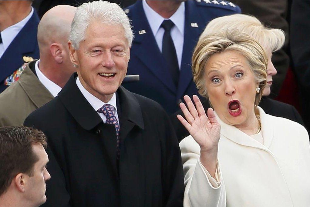 Quién es la asesora de caras de Hillary Clinton en la asunción de Dona...