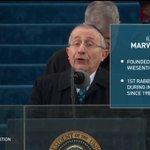 Cela faisait 32 ans qu'un #rabbin n'avait pas prié à une investiture présidentielle #MarvinHier #JUDAISME #Inaugurationday2017 #DonaldTRUMP