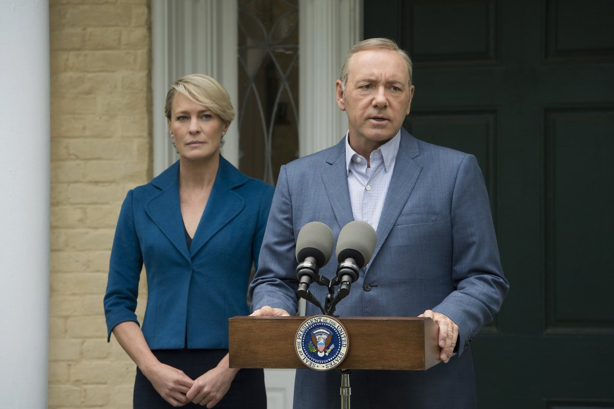 Netflix drops ominous 'House of Cards' Season 5 teaser, release date before inauguration https://t.co/3HFiUyb3Go https://t.co/Z144tC7lxA