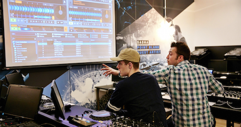 We're going back to school with a course in production at @Point_Blank...