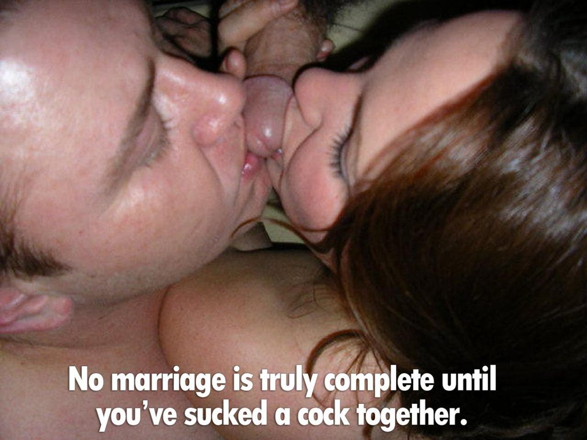 Couples who suck cock together