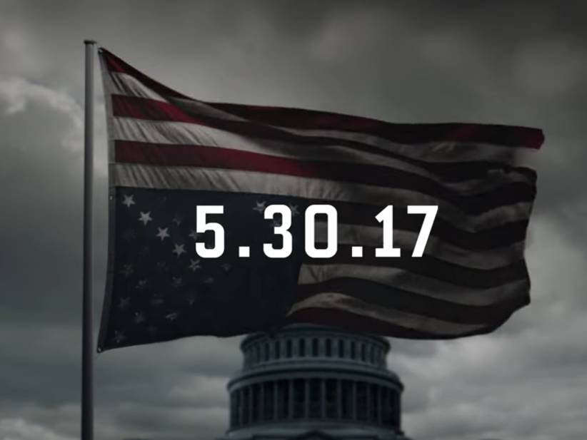 Season 5 of House of Cards dropping on Memorial Day weekend is a crime...