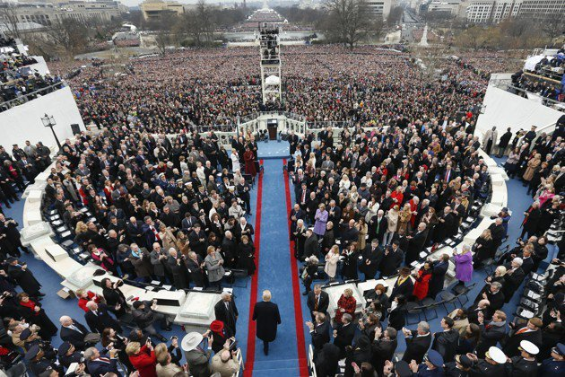 Islam gets left out of a multi-faith show of prayer on the inaugural stage https://t.co/68FLotg4ZF