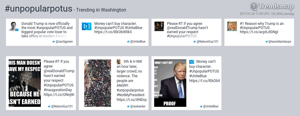 #unpopularpotus is now trending in #DC  https://t.co/mh6jZyfWl7 https://t.co/VthfLIYA3D