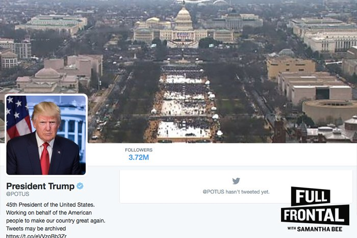 Noticed you had to use an old Obama inauguration photo for your banner, so we fixed it for you.