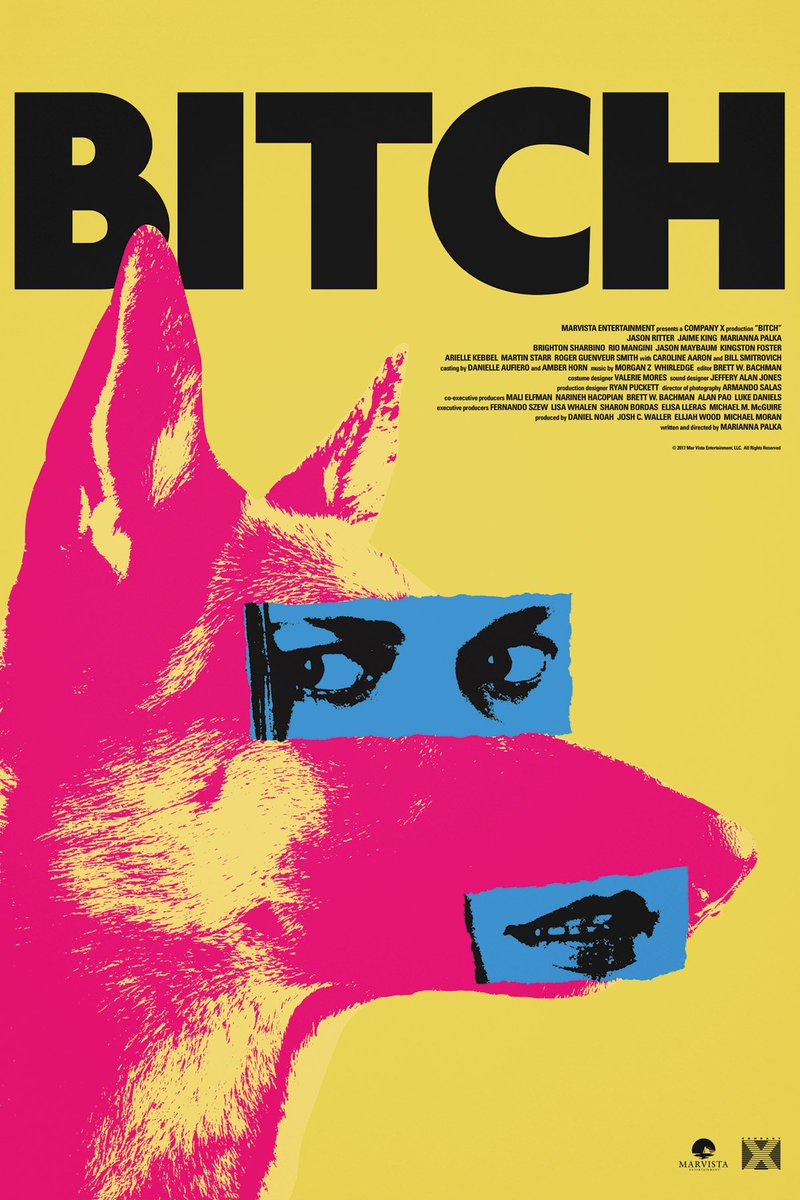 All bark. All bite. BITCH premieres TONIGHT at 11:59pm at #Sundance201...