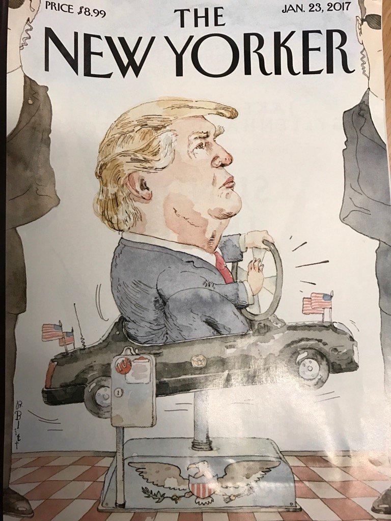 La portada de @NewYorker que empieza a circular hoy https://t.co/xZFalv1vlA