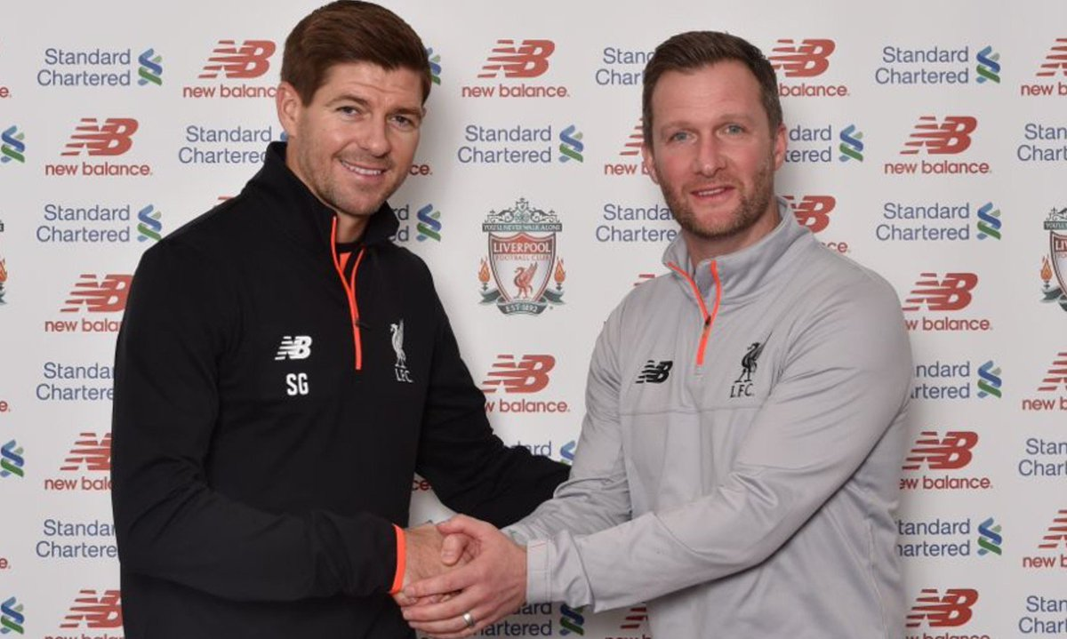 Steven Gerrard returns to Liverpool as an academy coach! 👊 (📷 @LFC) ht...