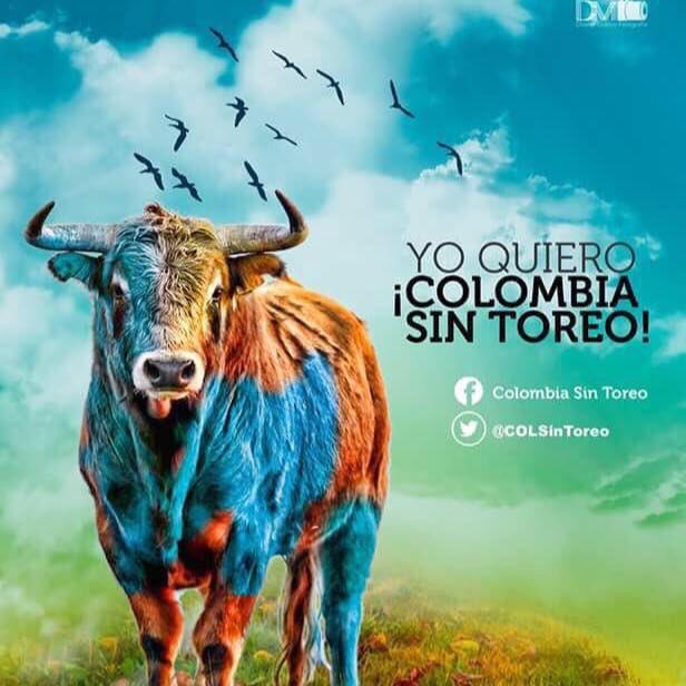 Porque nos gustan los toros pero VIVOS, luchemos todos por una #Colomb...