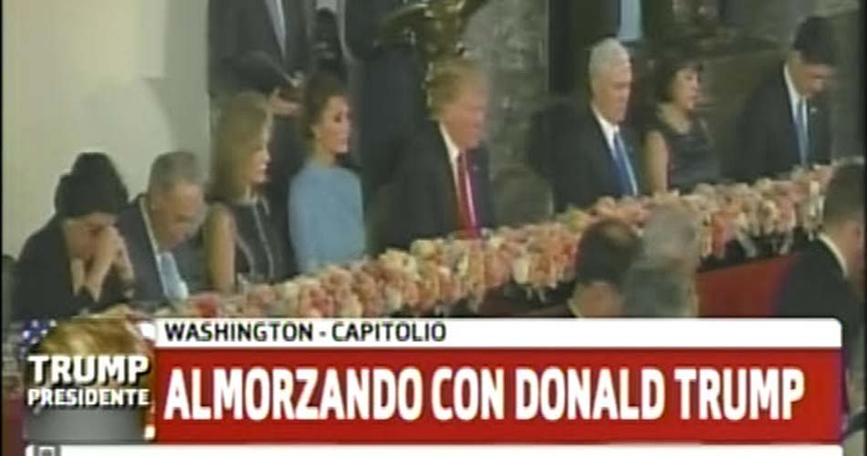 #Mesaza en el Capitolio. #TrumpPresidente #BocadoPresidencial #ConMela...