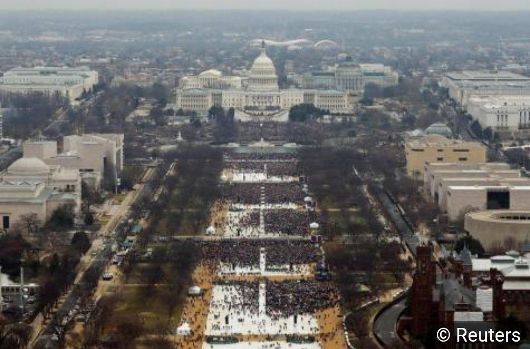 Une image qui ne trump pas, c&#39;est ce que je garderai en mémoire de cette investiture. #Trump2017 <br>http://pic.twitter.com/wzwEfpvsPK