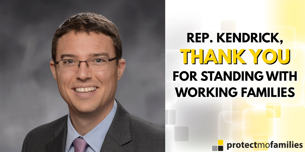 Thank you, Rep. @Kip_Kendrick, for standing with working families! #mo...