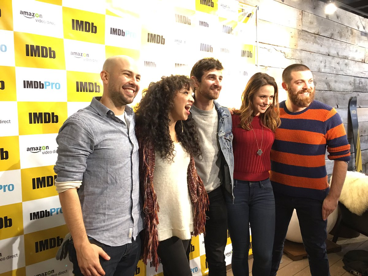 The cast of #Sundance2017 film #Snatches at the #IMDbStudio