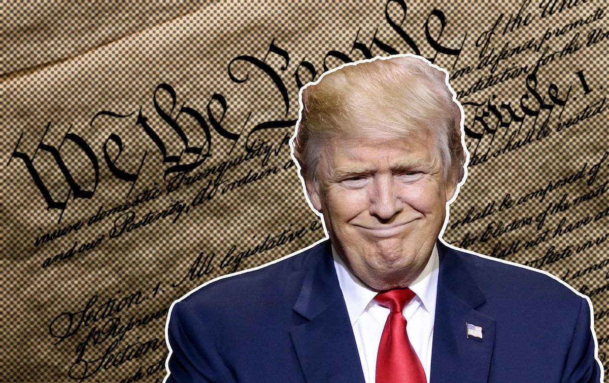 One thing EVERY AMERICAN should know about today: Trump broke his oath...