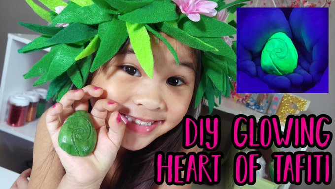 DIY Glowing Heart of Tafiti
