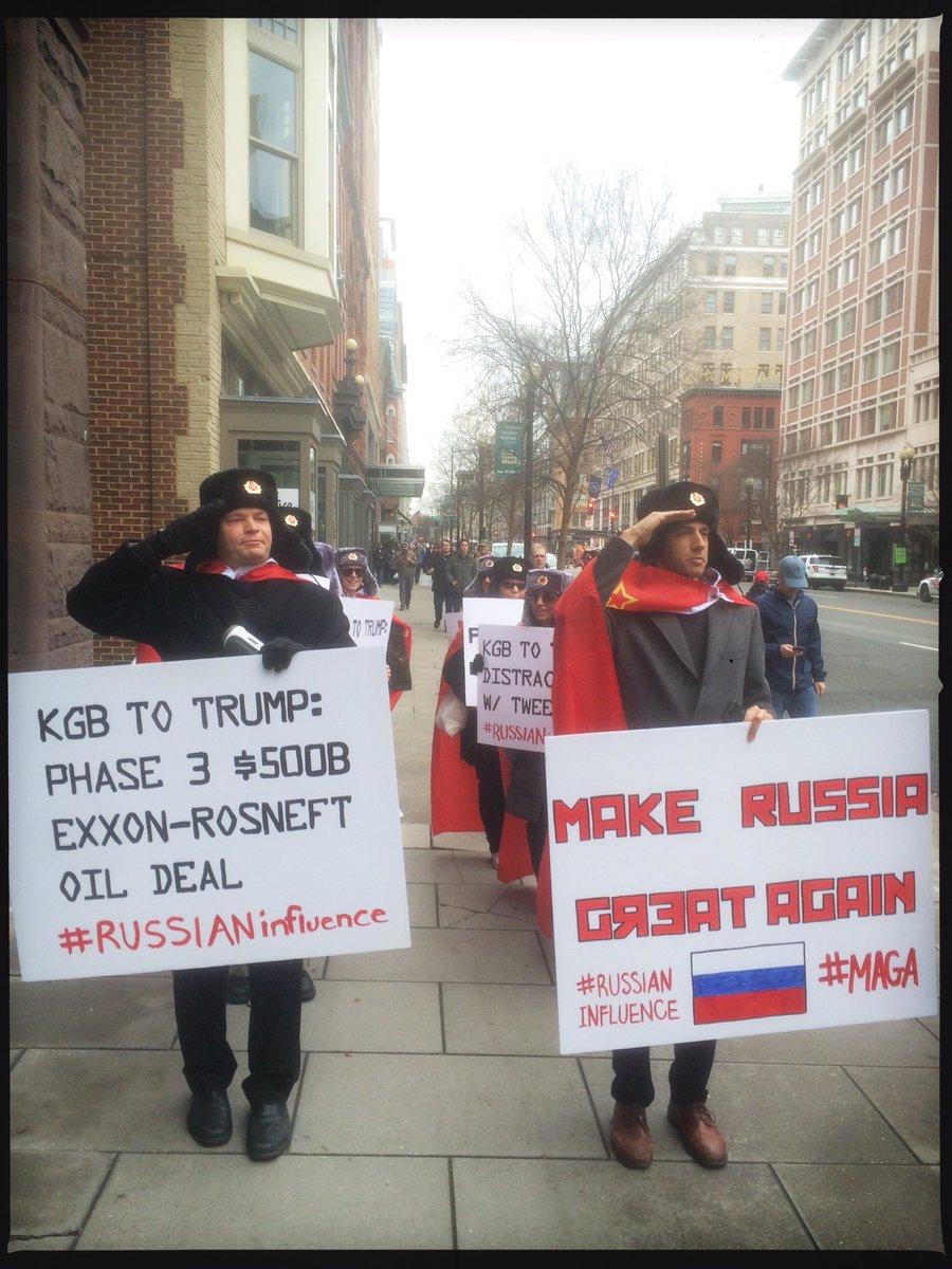 Протесты против президентства Трампа в Вашингтоне: 95 человек арестованы - Цензор.НЕТ 9399