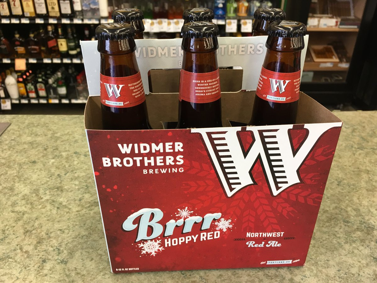 .@WidmerBrothers Brrr Hoppy Red Ale is now available! 🍻❄️ https://t.co...