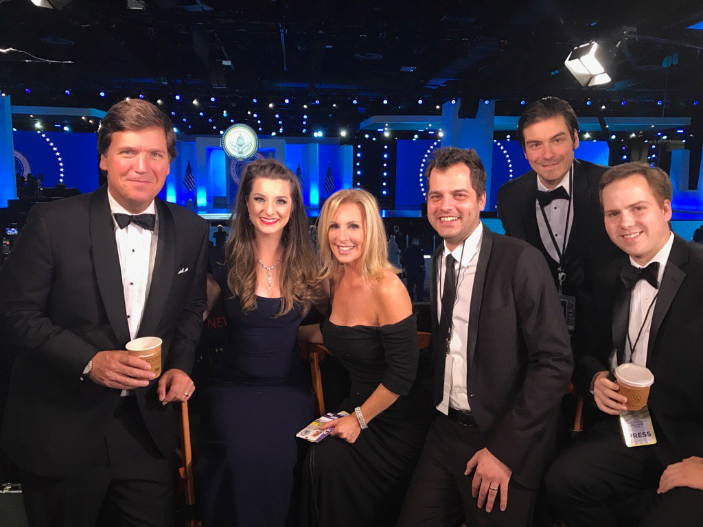 TCT team is behind the scenes! See you in 1 hour LIVE from the #FreedomBall Tweet me your thoughts! -TCT #Tucker <br>http://pic.twitter.com/z6YxXAUFWe