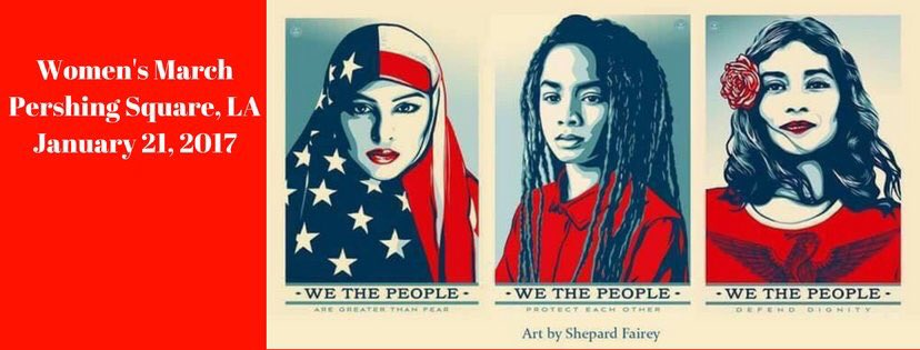 see you tomorrow. Together. One voice. #womensmarchlosangeles https://...