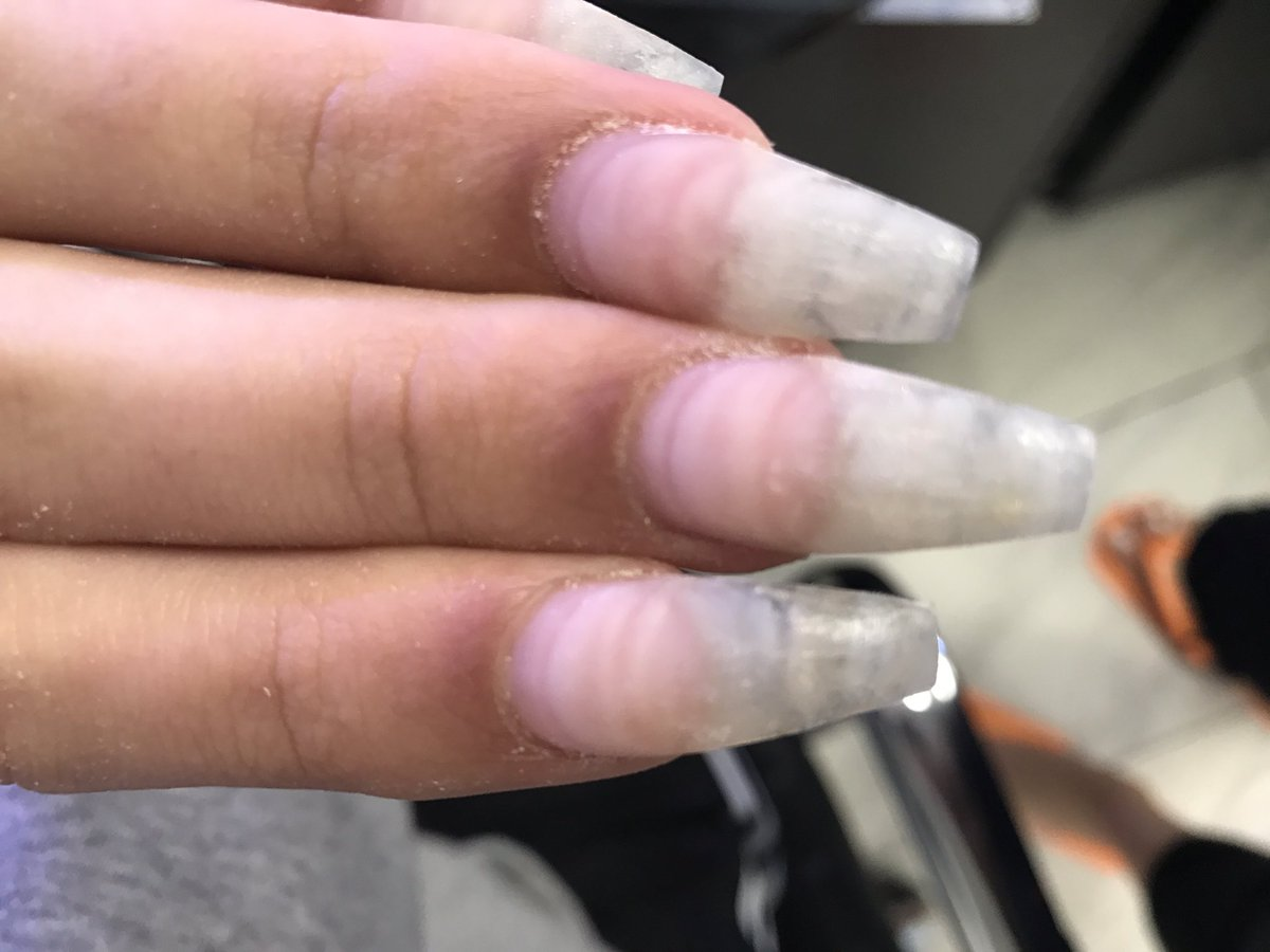 James Charles On Twitter My Nails Are Now Acrylic Over Full Natural Nail No Tip Here Sisters Look At All Those Fill Layers As An Ex Biter