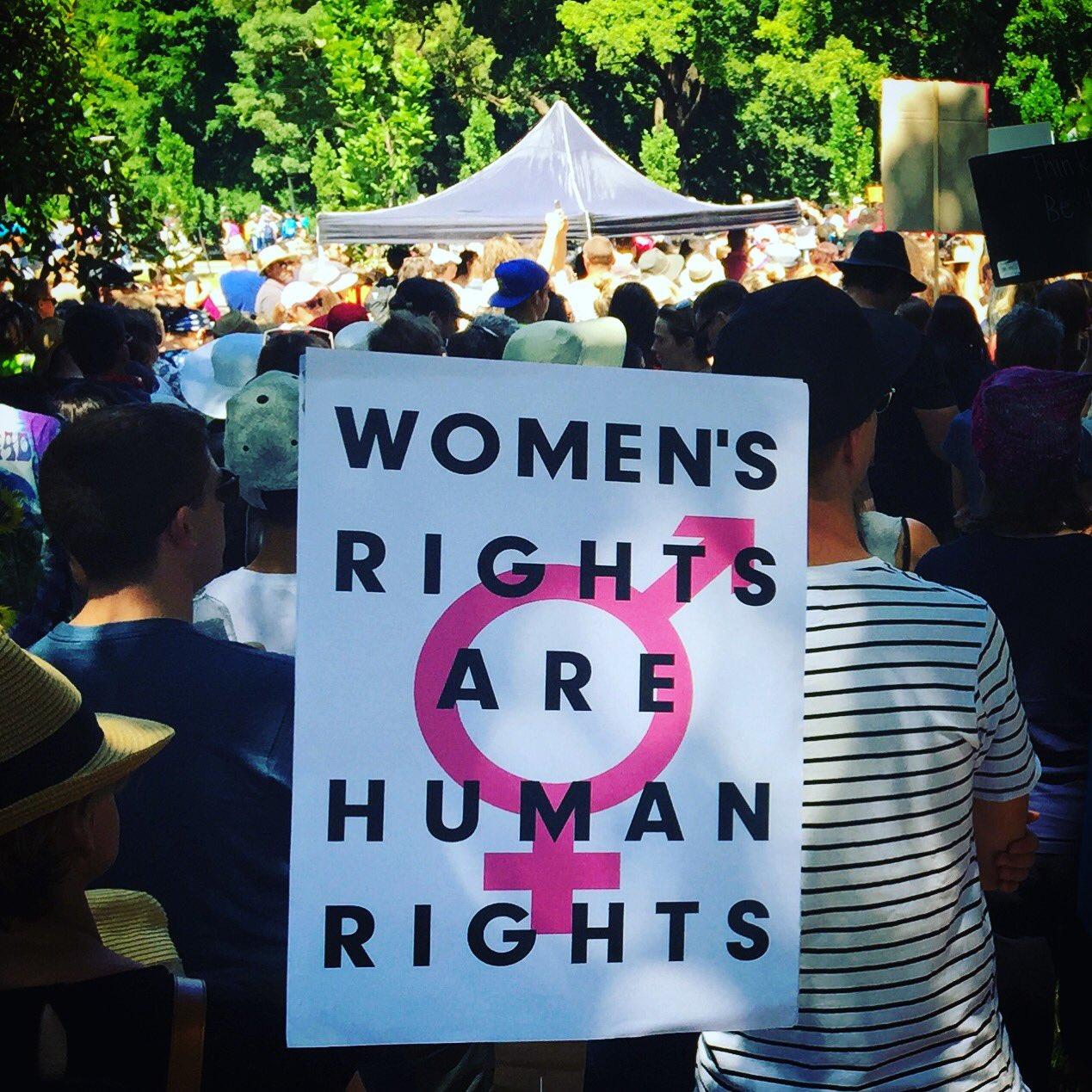 Thumbnail for Women's marches kick off around Australia
