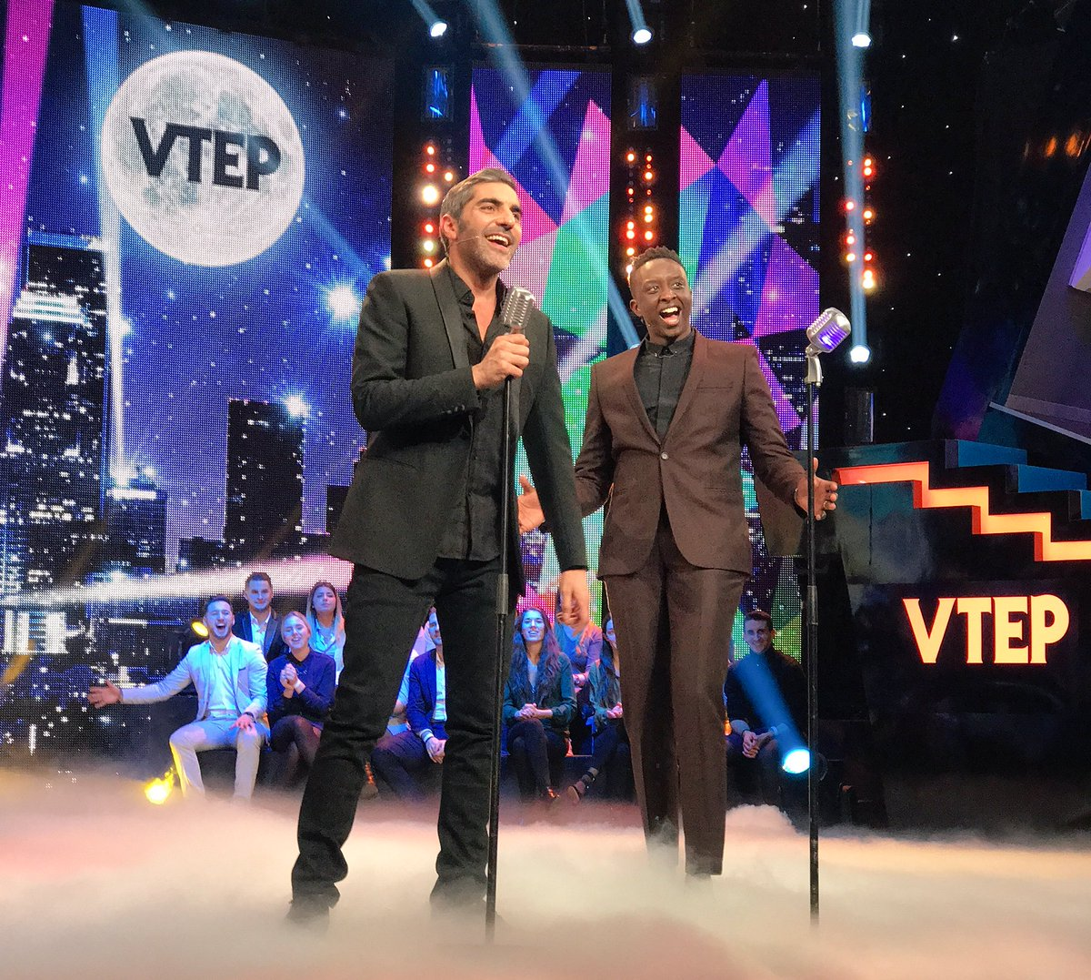 😂😂😂 @Ahmed_Sylla @guillaumecanet #DanyBoon #AryAbittan @TF1 #VTEP http...