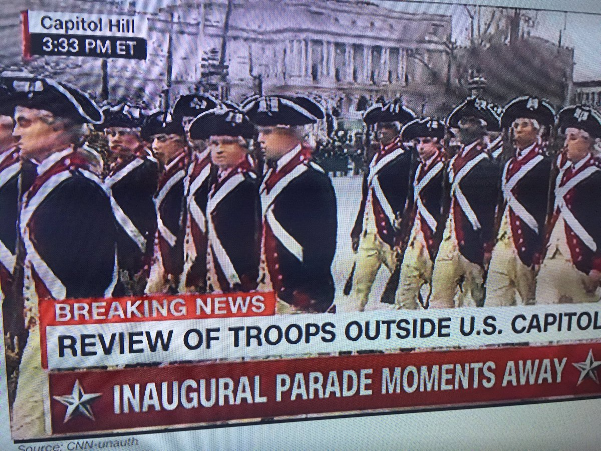 Outfits fit the time period we just sent our country back to... #Inaug...