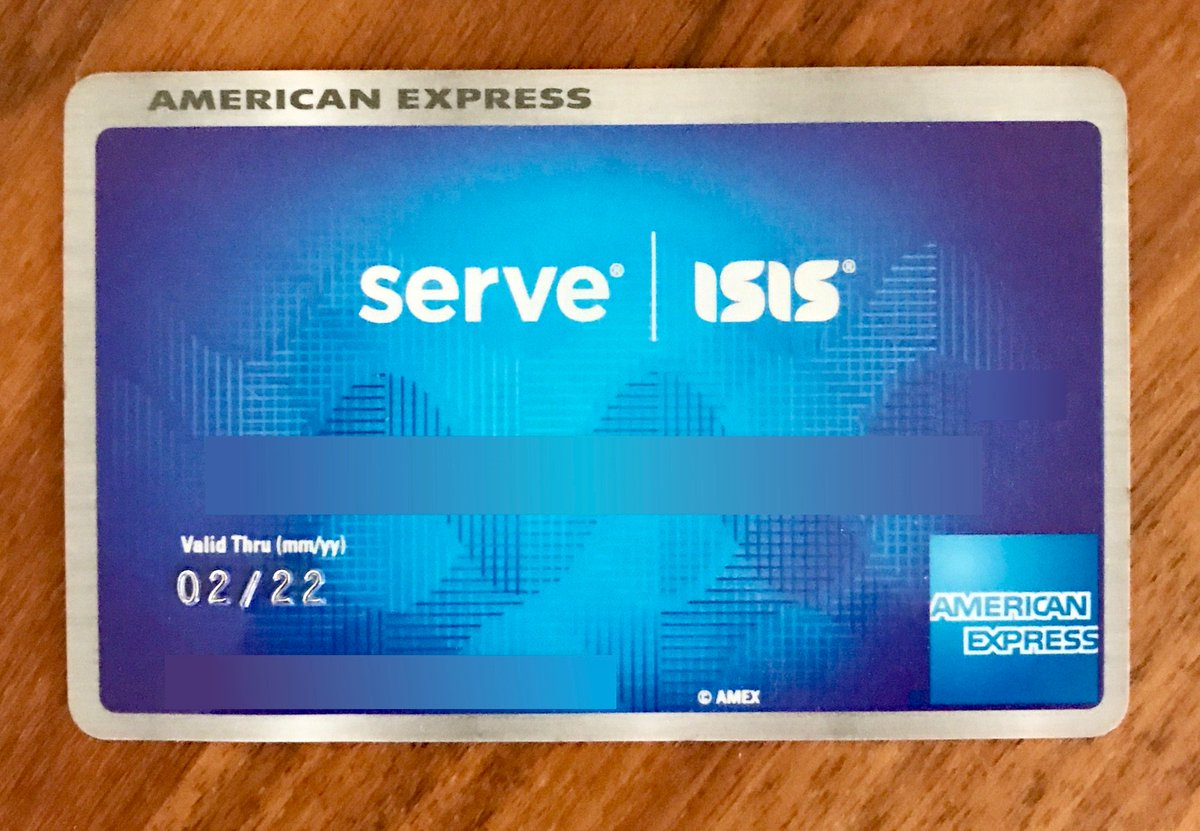 Double take looking at the @AmericanExpress prepaid card I got for Christmas https://t.co/7bqiGivjc5