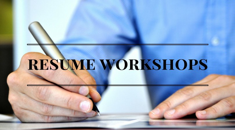 free resume workshops weekly as well as a full line up of additional job search workshops come in and pick up this months calendarpictwittercom