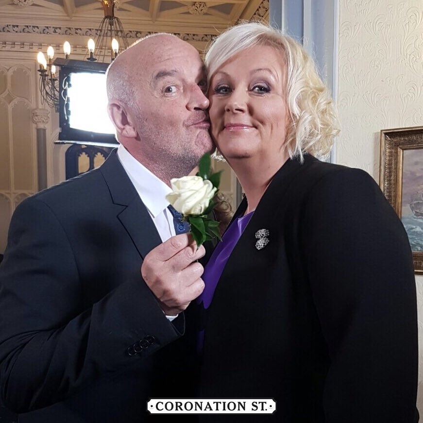 Phelan is trending number one!  Well it is his wedding day! 🎩 #Corrie...