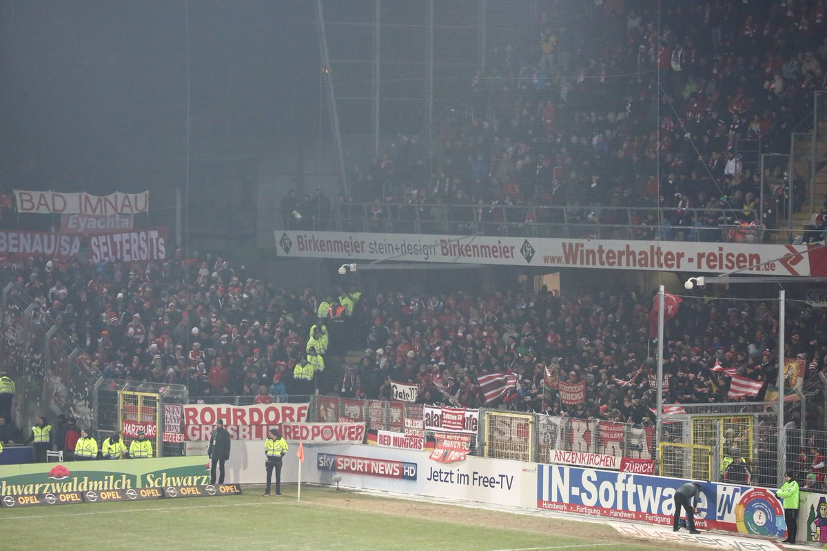 It's the #FCBayern fans making all the noise as the match enters the f...