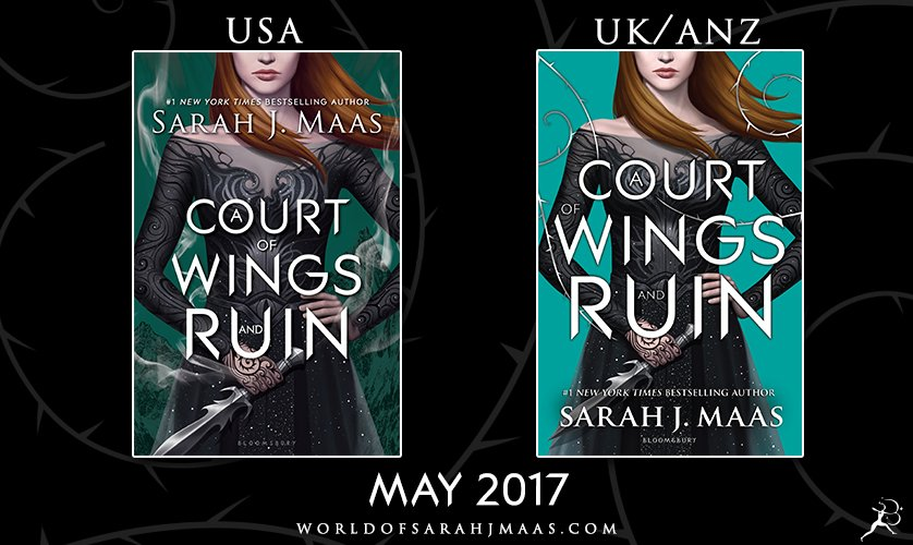 It's here! The cover for @sjmaas's A COURT OF WINGS AND RUIN is here and it's stunning! https://t.co/W6Tm42pIdk