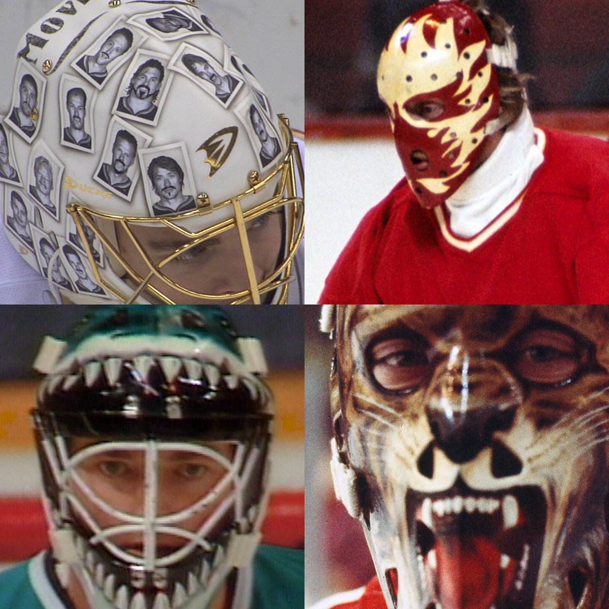 Nhl Network On Twitter What Is Your Favorite Goalie Mask Ever You