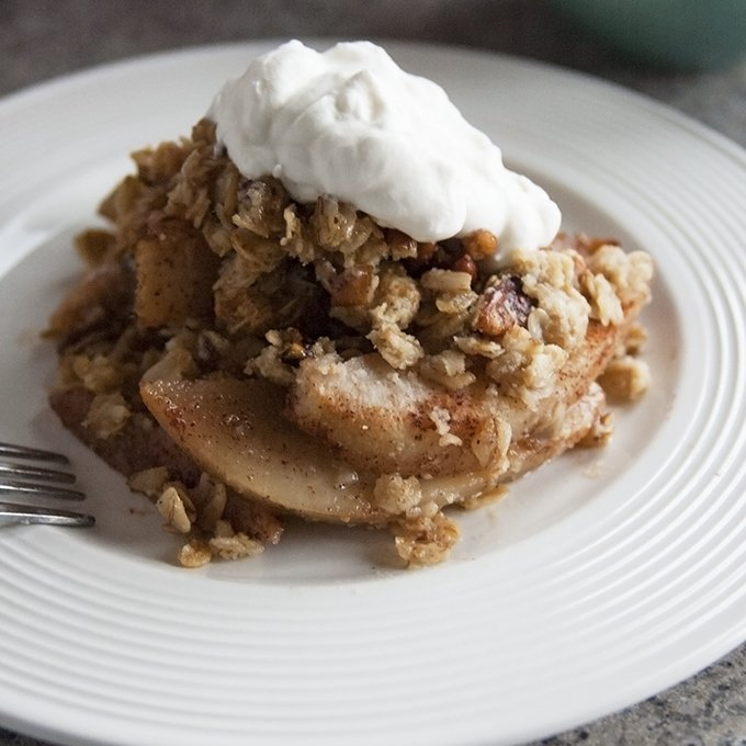 Awesome Gluten-Free Pear Crisp
