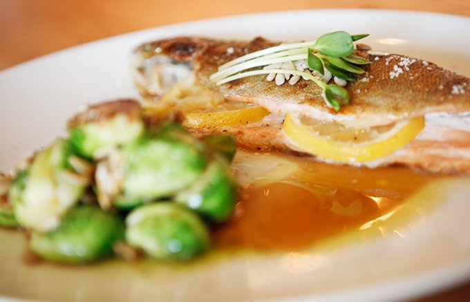 Ricardo Heredia's Recipe for Roasted Trout