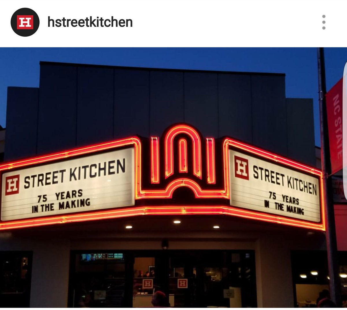 dont you just want a nice easy convenient dinner tonight stop by your local neighborhood kitchen h street kitchenpictwittercomvyyl9jqfd6 - H Street Kitchen
