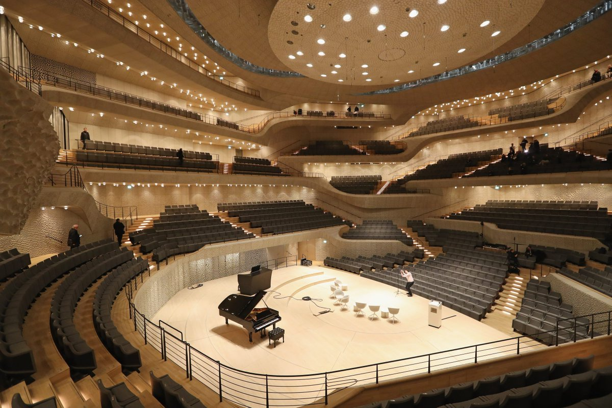 Germany's Elbphilharmonie concert hall is a cathedral dedicated to sou...